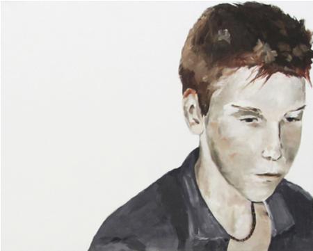 Ohne Titel | 80 x 100 cm | 2009 | Öl auf Leinwand