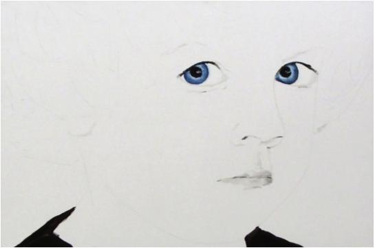 """Charlotte"" | 80 x 120 cm | 2012 | Öl auf Leinwand"