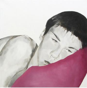Ohne Titel | 100 x 100 cm | 2007 | Öl auf Leinwand