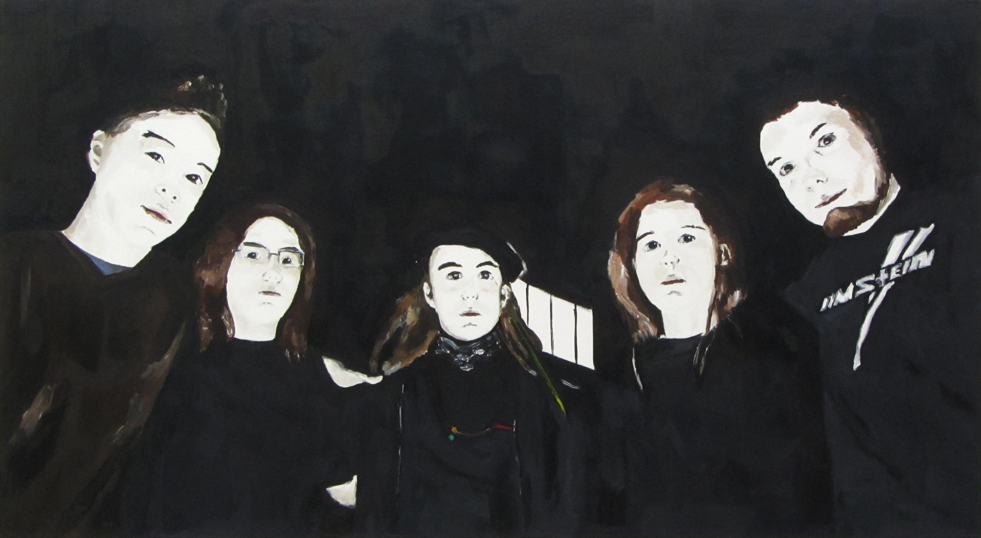 Ohne Titel | 100 x 170 cm | 2011 | Öl auf Leinwand