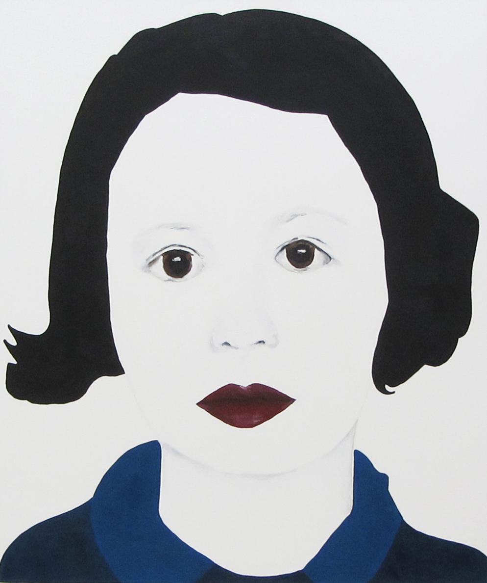 Paula | 120 x 100 cm | 2013 | Öl auf Leinwand
