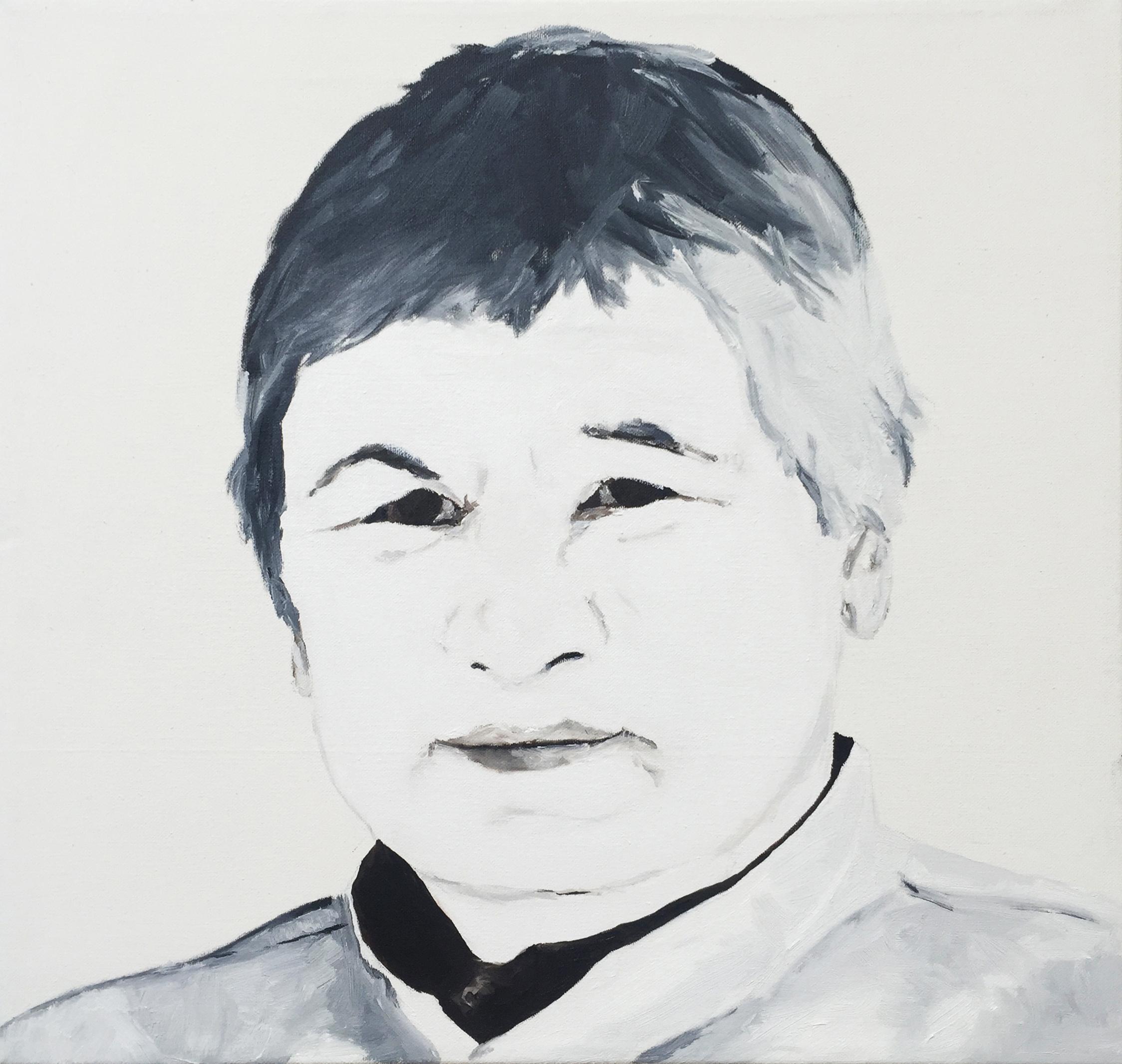 Agnes Martin | 50 x 50 cm | 2015 | Öl auf Leinwand