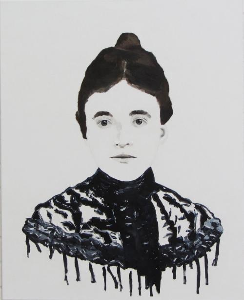 Johanna Oppenheimer | 100 x 80 cm| 2015 | Öl auf Leinwand