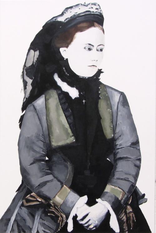 Kaiserin Friedrich | 150 x 100 cm | 2015 | Öl auf Leinwand