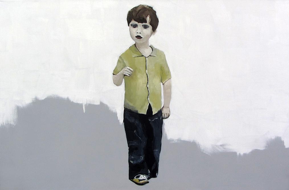 Ohne Titel | 100 x 150 cm | 2016 | Öl auf Leinwand